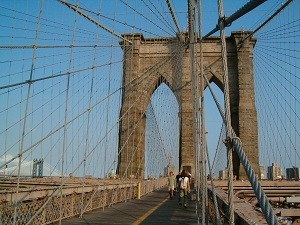 Radtour Central Park: Brooklyn Bridge in New York
