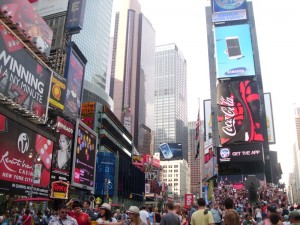 Radtour Central Park: Times Square in New York