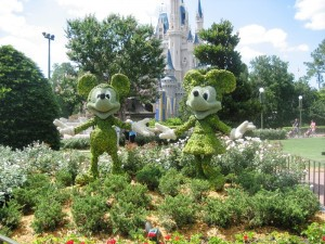 Florida Highlights: Mickey Mouse und MInni Mouse in Disney World