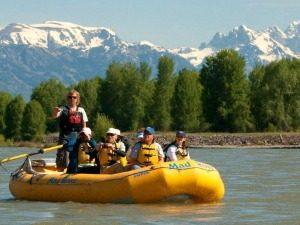 Bootsfahrt über den Snake River