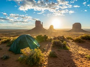 Camping im Monument Valley