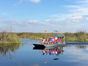Florida mit Teenagern - Airboat
