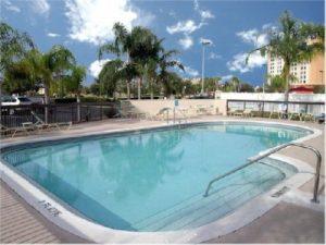 Florida mit Teenagern - Pool