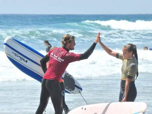 Florida mit Teenagern - Surfen