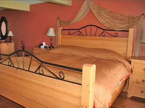 Ein Doppelzimmer in einem Hotel an der Sunshine Coast