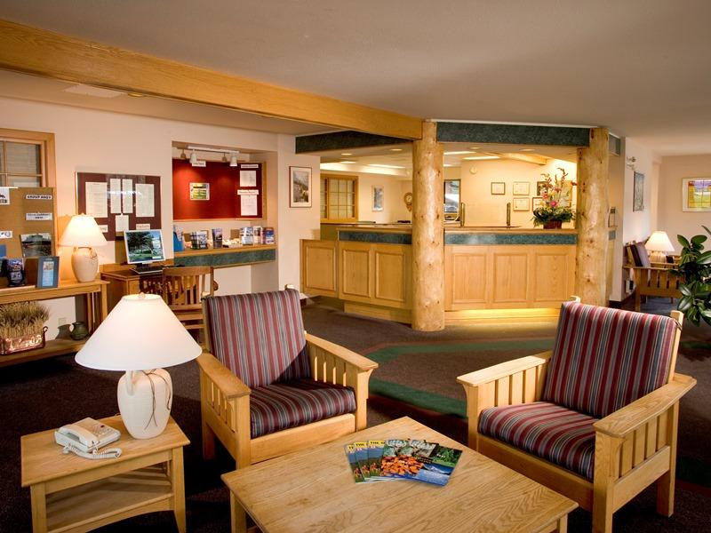 Lobby Budget Hotel Jasper