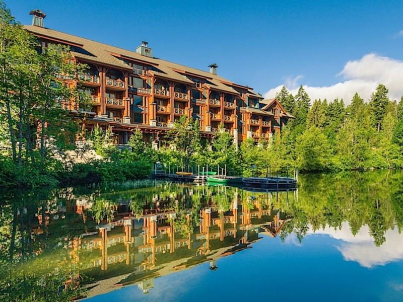 Komfortables Hotel bei Whistler