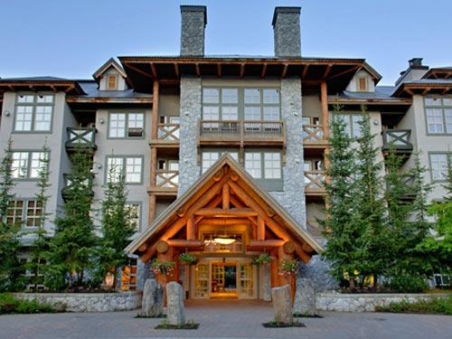 Ein Berghotel in Whistler