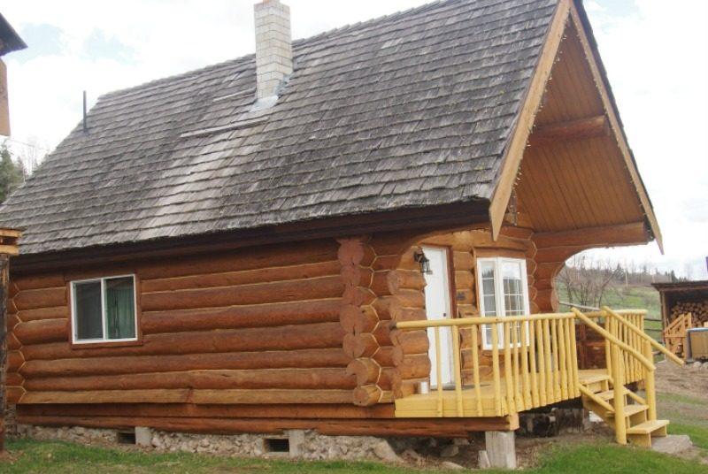 Hütte auf Ranch in Kanada