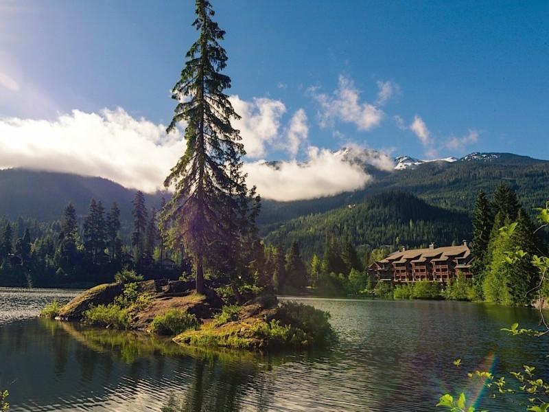 Ausblick Hotel Komfort Whistler