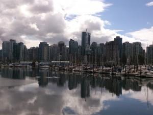 Skyline mit dem Fahrrad in Vancouver erleben