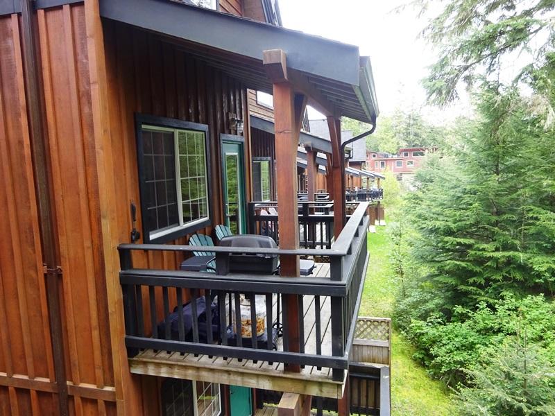 Komforthotel Ucluelet Balkon