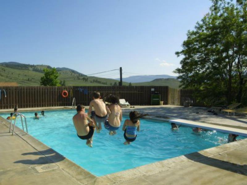 Pool auf der Ranch