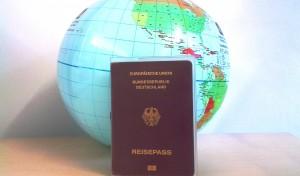 Ein Reisepass