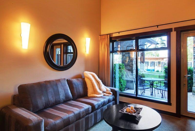 Hotel in Parksville Wohnzimmer