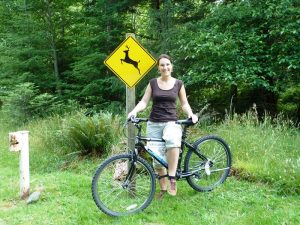 Radfahren auf Quadra Island