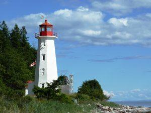 Leuchtturm auf Quadra Island - Vancouver Island Rundreise