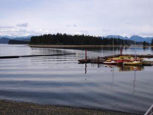 Kajak auf Quadra Island - Vancouver Island Rundreise