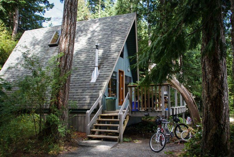 Haus auf Quadra Island