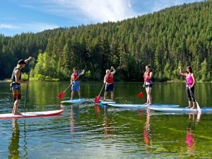 Stand Up Paddling Sun Peaks