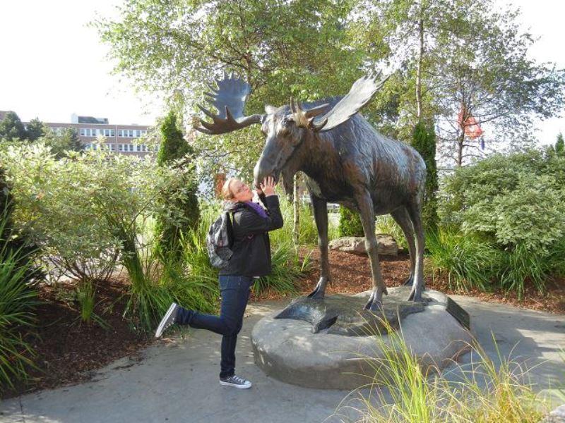 Reisespezialistin Johanna in Kanada