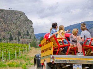 Farmbesuch Osoyoos mit Kindern - Rundreise von Vancouver bis Calgary