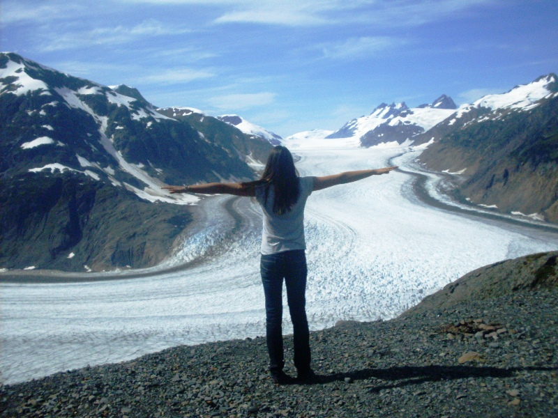 Gletscher in Alaska