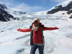 Gletscherwanderung am Icefields Parkway