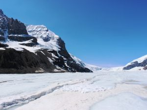 Gletscher am Icefields Parkway