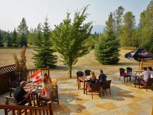Revelstoke National Park: Terrasse Lodge Revelstoke