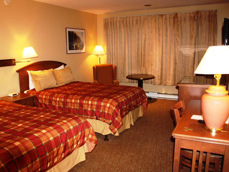 Schlafzimmer Hotel Prince Rupert