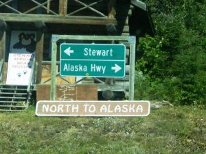 Grenze nach Alaska - Hyder