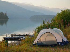 Zeltcamp Revelstoke See - Kanada Rundreise ab Vancouver