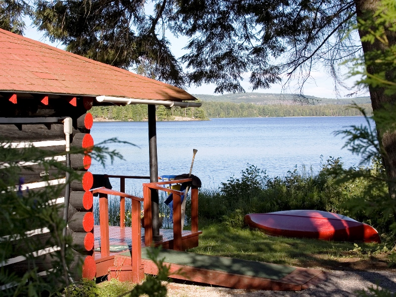 algonquin nationalpark unterkunft kanufahrt familie