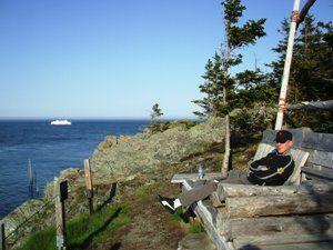 Ausblick Fundy Nationalpark Atlantikprovinz