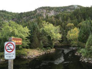 Teufelsfluss Mont Tremblant mit Kindern Kanada