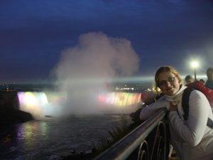 Niagara Wasserfälle Ausflug bei Nacht