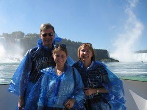 Familienreise Ostkanada mit Kindern Besuch Niagarafälle