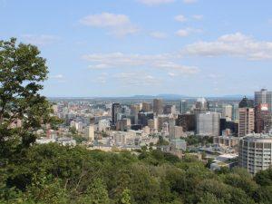 Ausblick vom Mont Royal über Montreal