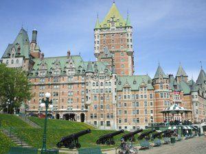 Chateau Frontenac Québec Kanada