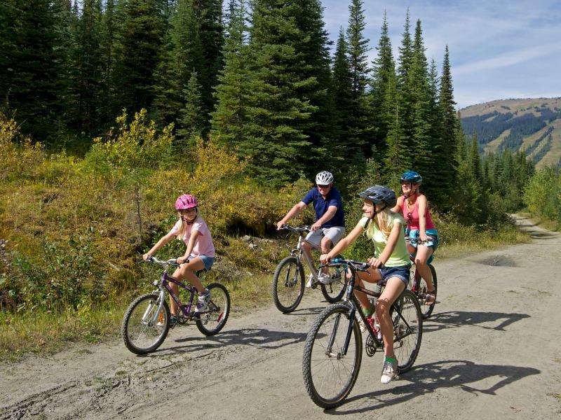 Fahrradtour in Kanada mit der Familie