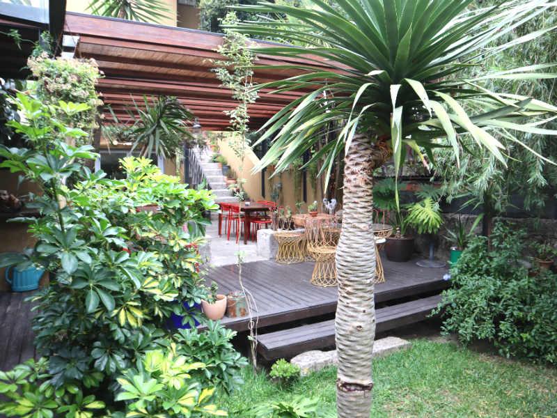 Boetiekhotel tuin Porto