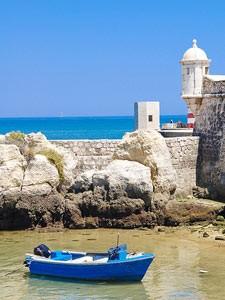 portugal kust bootje