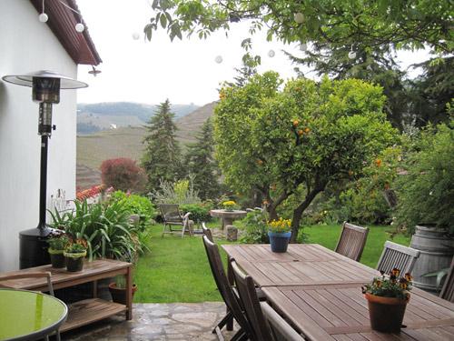 portugal wijnhuis douro tuin