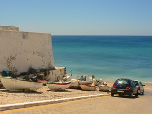 portugal algarve auto aan zee