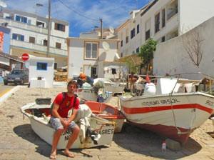 portugal algarve bootjes reiziger