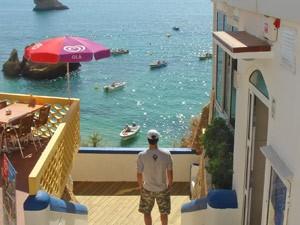 portugal algarve kust bootjes