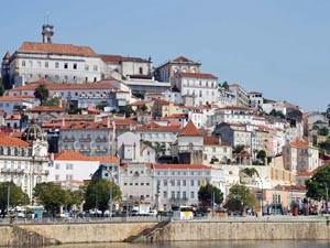 struinen door Coimbra