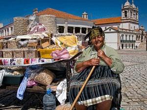 portugal kust vissersvrouw