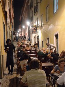 portugal lissabon straatje